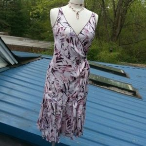 DIANE von FURSTENBERG silk purple wrap dress NWT